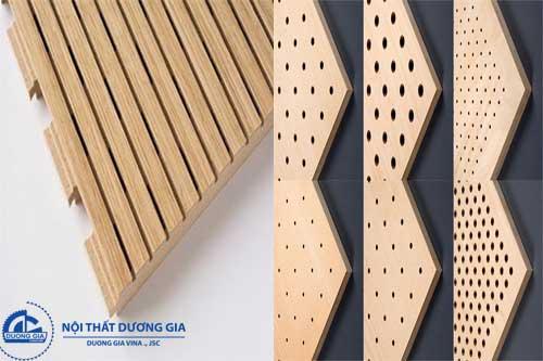 Sản phẩm vách tiêu âm bằng gỗ nỉ rất được ưa chuộng sử dụng