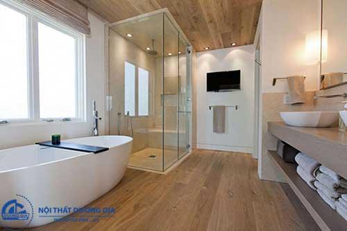 Yếu tố ánh sáng trong phòng tắm