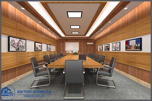 Thiết kế phòng họp thống nhất về phong cách