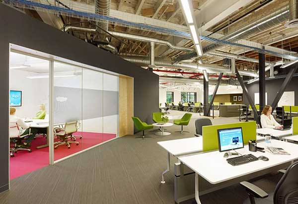 Những ý tưởng tưởng thiết kế văn phòng đa nặng độc đáo nhất