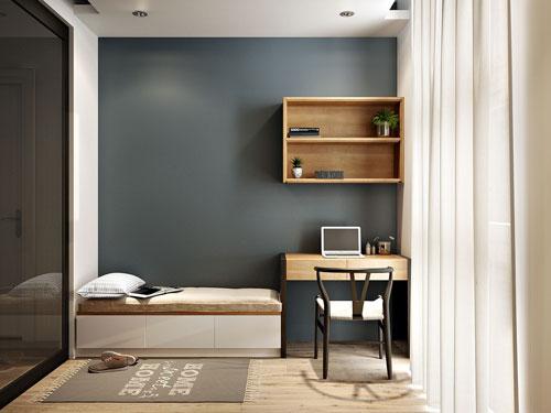 Có nên đặt bàn làm việc trong phòng ngủ?