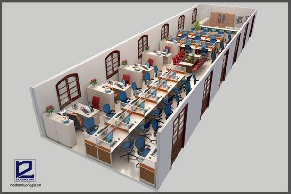 Chọn nội thất cho thiết kế văn phòng 15m2 và 100m2 cần lưu ý những gì?
